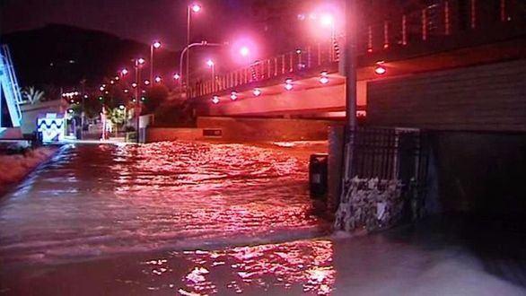 Alicante se ahoga: llueve en solo un día la mitad de todo un año