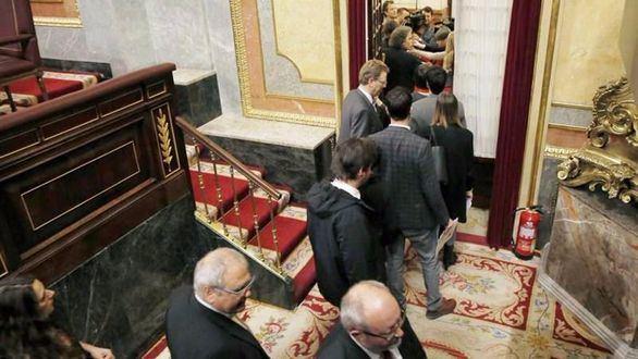 Nuevo numerito de Podemos: abandona el Pleno en solidaridad con Homs