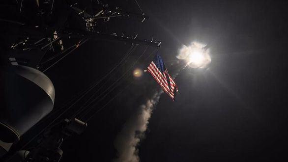 EEUU bombardea Siria tras el ataque químico de Asad