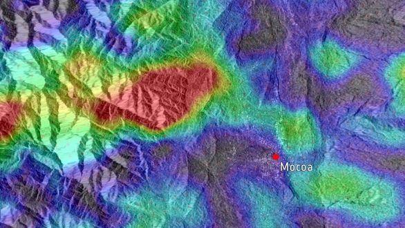 Sentinel-1 muestra el desastre provocado por la avalancha de Mocoa
