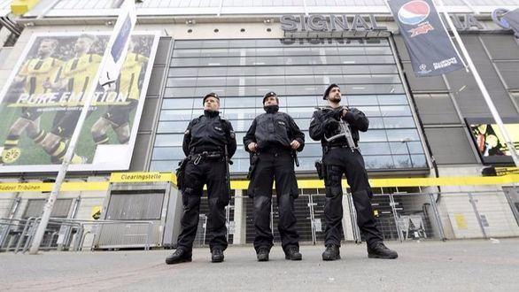Detenido un islamista tras el ataque al autobús del Dortmund