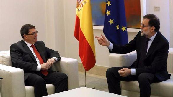 Rajoy se reúne con el ministro de Exteriores cubano