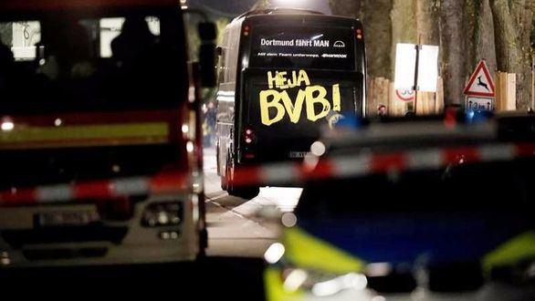 Un detenido por el ataque contra el bus del Dortmund
