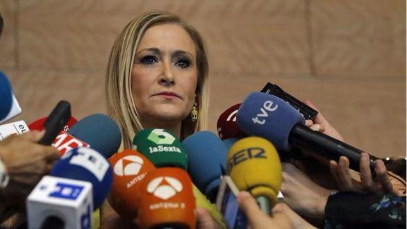 Cs mantiene el apoyo a Cifuentes pese al escándalo de González