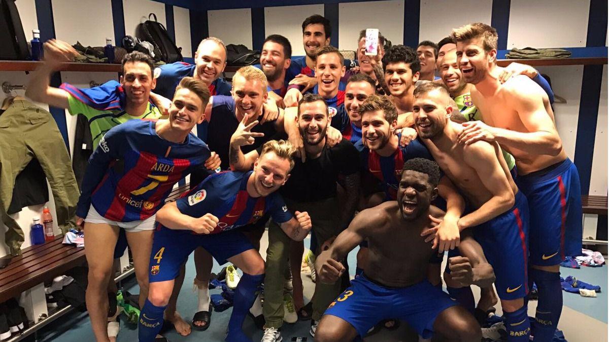 Los tuits del día. La victoria del Barça y Macron