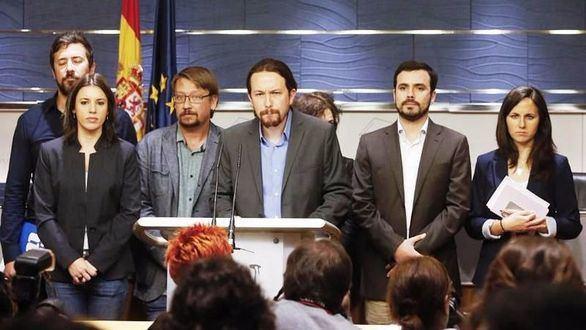 PSOE, Cs y PNV rechazan la moción de censura de Podemos