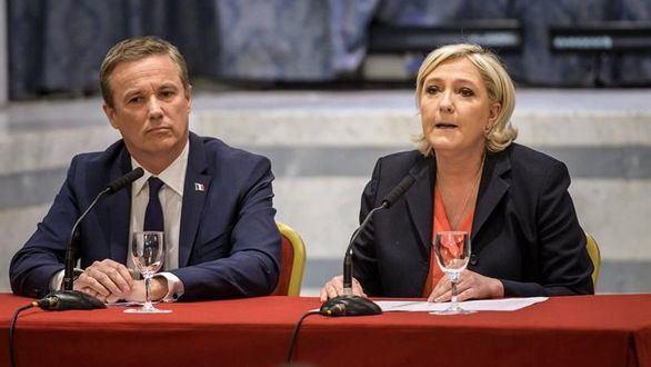 Un eurófobo será primer ministro de Francia si gana Le Pen