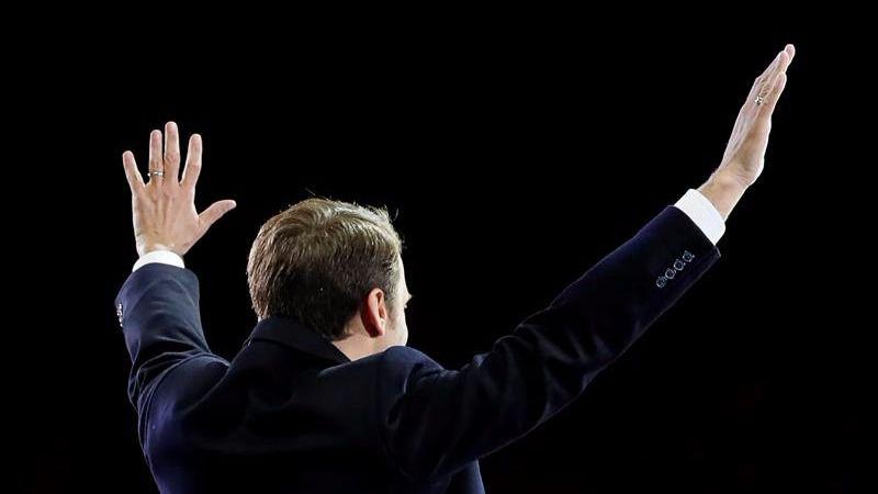 Los tuits del día. Alegría por la victoria de Macron