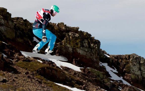 Snowboard. Eguibar se corona con grandeza en Sierra Nevada