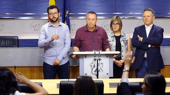 Compromís y Podemos chocan por la moción de censura