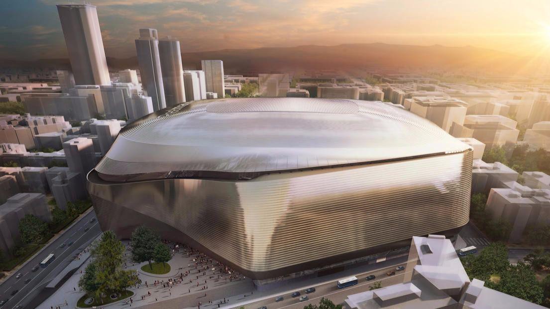 El Ayuntamiento aprueba la reforma del Bernabéu, que tendrá cubierta abatible