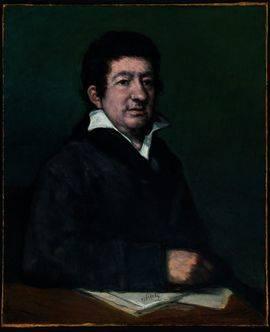 Retrato del poeta Moratín, de Goya