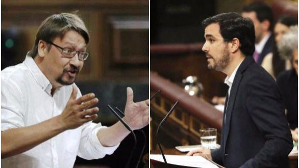 Domènech y Garzón se rinden ante Iglesias