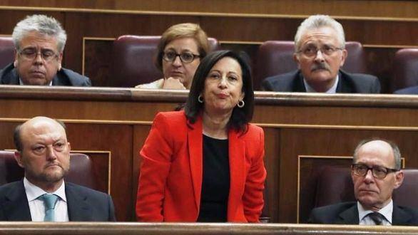 Margarita Robles, voz en el Congreso del nuevo PSOE de Pedro Sánchez