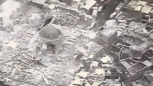 Daesh destruye la mezquita de Mosul desde la que proclamó el