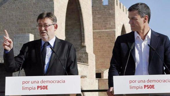 Puig dobla al candidato de Sánchez para las primarias en Valencia