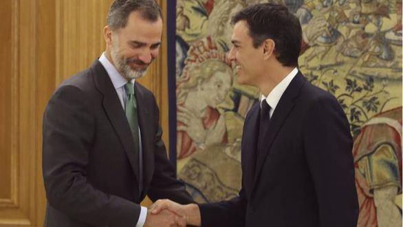 El Rey recibe a Sánchez en Zarzuela