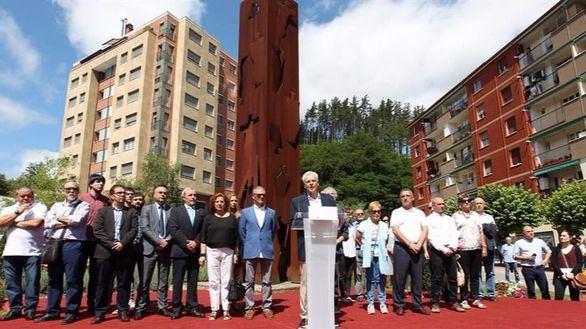 Emocionante acto de homenaje a Miguel Ángel Blanco