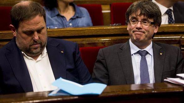 Puigdemont afirma que Junqueras se encargará de organizar el referéndum