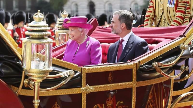 Felipe VI y Doña Letizia: histórico viaje de Estado al Reino Unido