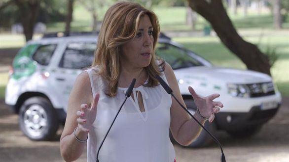 Susana Díaz rechaza la plurinacionalidad del Partido Socialista