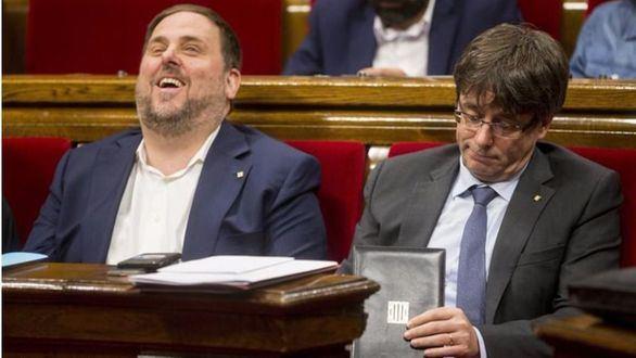 Junqueras pide dos euros por catalán para pagar la multa de Mas