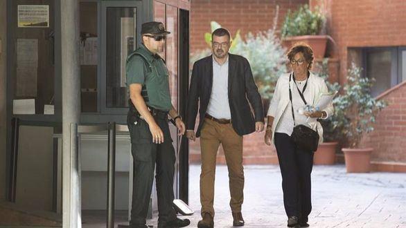 El director de Comunicación catalán se niega a declarar