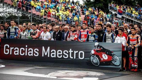 Adiós a Ángel Nieto: el motociclismo honra a su Maestro