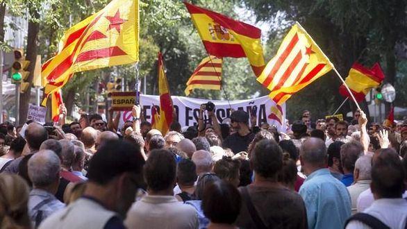 La 'kale borroka' desembarca en Cataluña en pleno desafío 1-O