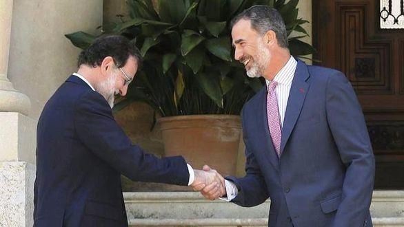 El Rey y Rajoy despachan con el desafío secesionista de fondo