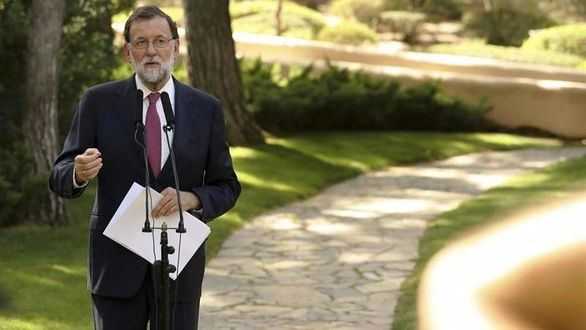 Rajoy, tras despachar con el Rey, insiste: no habrá referéndum