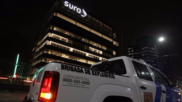 Dos heridos en una explosión en una oficina de Indra en Buenos Aires