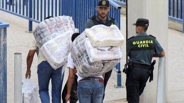 Reabierto el tráfico de mercancías en Ceuta tras una semana cerrado