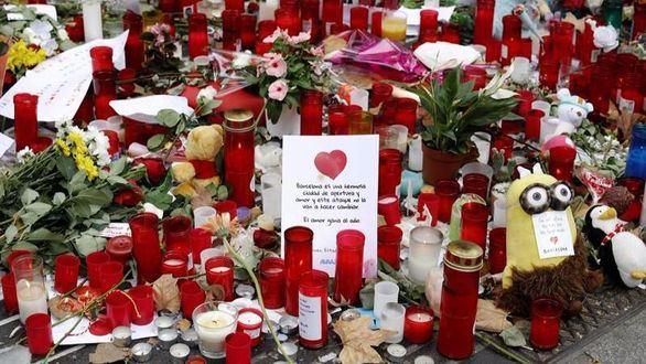 Muere una mujer alemana herida en el atentado de Barcelona