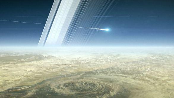 Se desintegra Cassini, la sonda que buscó un nuevo hogar para la humanidad