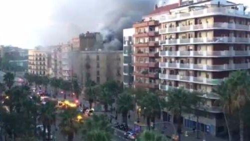 21 heridos por una explosión en una panadería de Barcelona