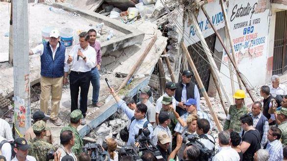 Un fuerte terremoto golpea México: 273 muertos y centenares de desaparecidos