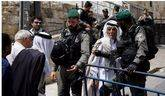 Foto de archivo de un puesto de seguridad israelí en Jerusalén