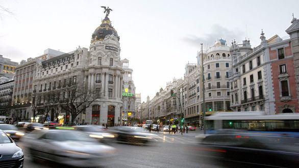 La Gran Vía de Madrid se cerrará al tráfico a partir de Navidades