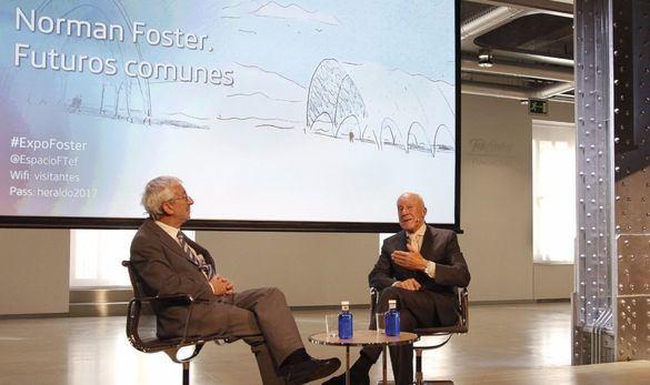 Una exposición repasa la visión de futuro de la arquitectura de Foster