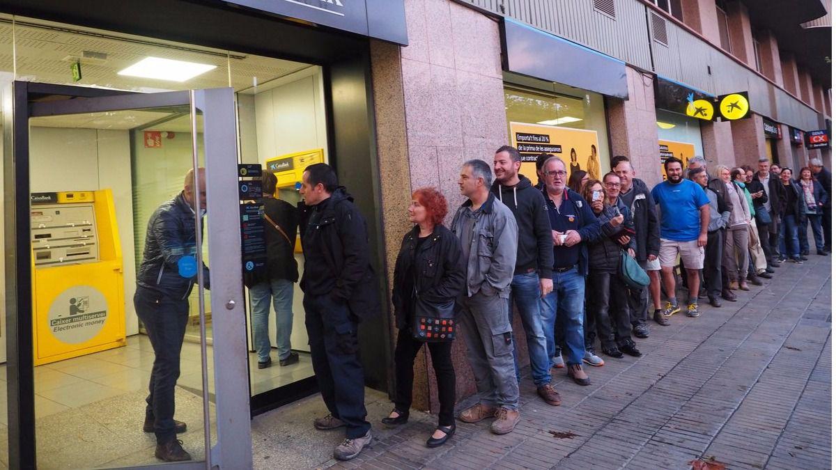 El independentismo busca un 'corralito' en Cataluña