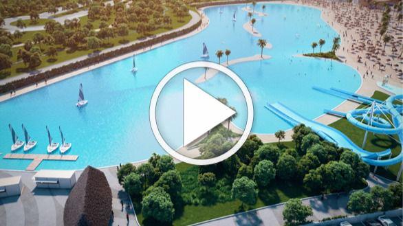 La mayor playa artificial de Europa, a 45 minutos del centro de Madrid