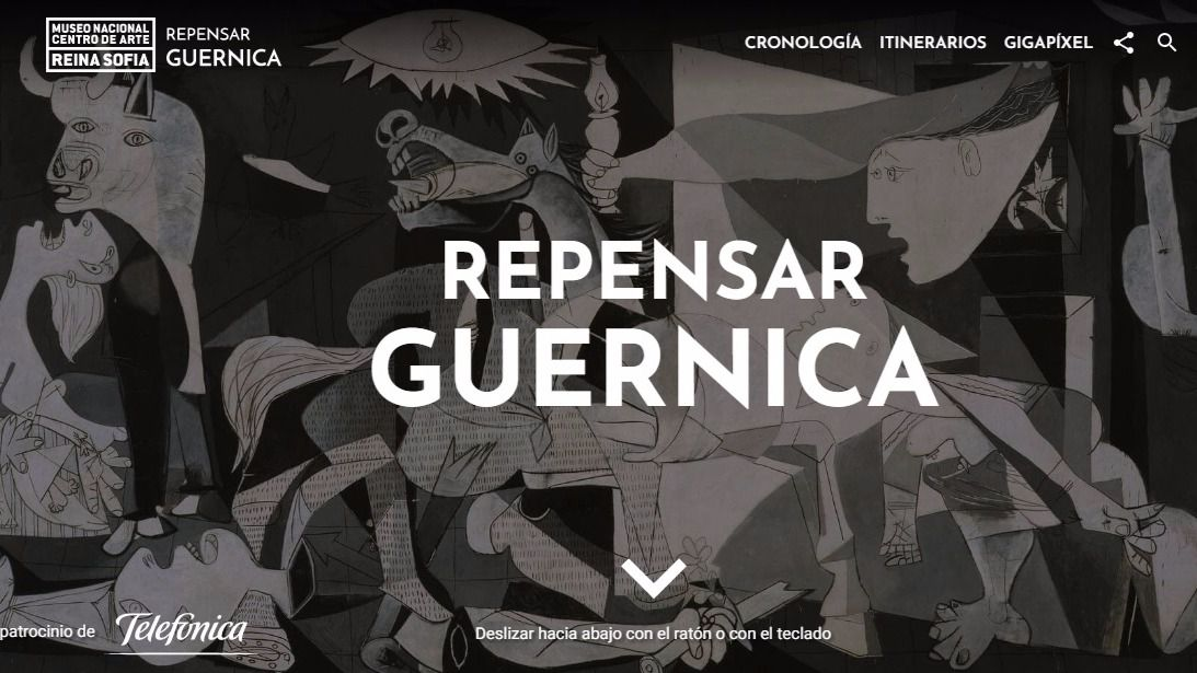Telefónica patrocina la web más avanzada y completa para conocer el Guernica