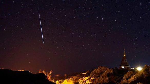 Hasta cuatro meteoros han sobrevolado los cielos de España esta semana