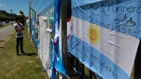 Se esfuman las esperanzas para los 44 tripulantes del submarino desaparecido
