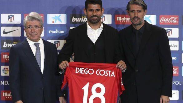 Vitolo y Costa reponen la ilusión al Atlético en su presentación ante la afición