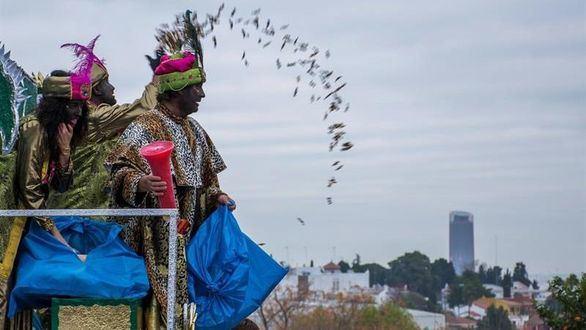 La lluvia recibe a los Reyes Magos: 17 provincias en alerta