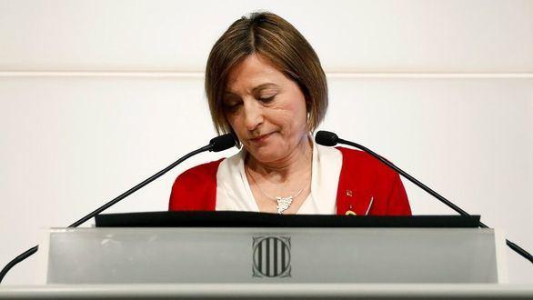 Forcadell renuncia a repetir como presidenta del Parlament