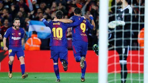 Copa del Rey. El Barcelona resuelve por la vía rápida  5-0