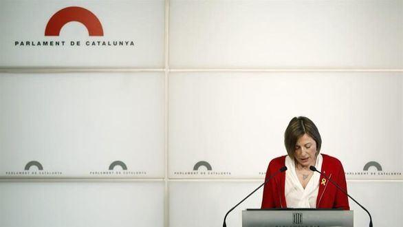 Forcadell perderá la indemnización de presidenta de la Mesa